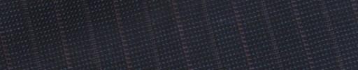 【E_9s261】ダークブルーグレーピンチェック+1.4cm巾赤・グレー交互ストライプ