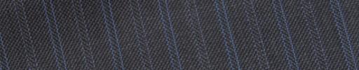 【E_9s269】ミディアムグレー+1.4cm巾水色・パープル交互ダブルストライプ
