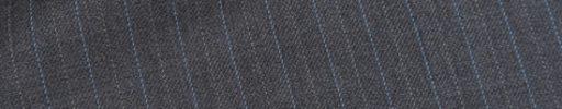 【Ec_0w111】ミディアムグレー+1cm巾ライトブルー・白交互ストライプ