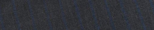 【Ec_0w120】グレーヘリンボーン+1.2cm巾ブルーストライプ