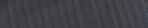 【Ec_0w122】ミディアムグレー+1.4cm巾水色・パープル交互ダブルストライプ
