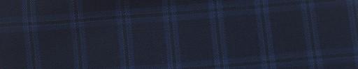 【Ca_6s019】黒紺地+2×1.5cmブルーファンシーチェック