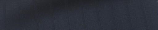 【Ca_6s053】黒紺地+1cm巾織りストライプ