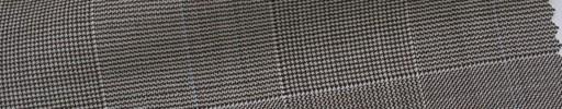 【Ca_6s066】ブラウングレンチェック+9×7cm水色プレイド
