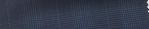 【Ca_6s155】ネイビー黒グレンチェック+5×4cmウィンドウペーン