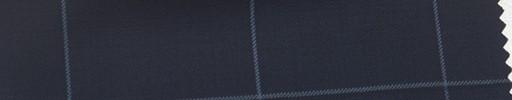 【Ca_6s163】濃紺地+黒ブルー6×4.5cmウィンドウペーン