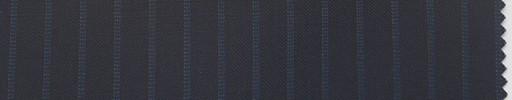 【Ca_6s706】黒紺地+7ミリ巾ブルーストライプ