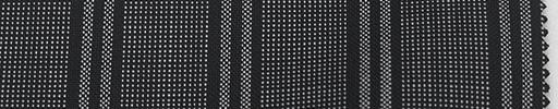 【Ca_6s711】グレー柄+2.5cm巾黒ストライプ