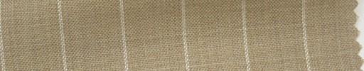 【Hs_cb05】ベージュ地+1.6cm巾白ストライプ