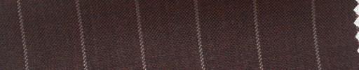 【Hs_cb08】ダークスカーレッド地+1.6cm巾白ストライプ