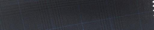 【Hs_cb33】ダークネイビーグレンチェック+2.3×2cmブループレイド