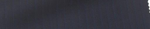 【Mi_co6s01】ネイビー地+6ミリ巾ブルー・織りストライプ