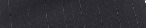 【Mi_co6s03】ダークネイビー地+1.5cm巾パープル・ドット・織りストライプ