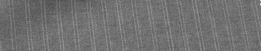 【Mi_co6s08】ライトグレー地+7ミリ巾白Wドットストライプ