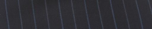 【Mi_co6s09】ダークネイビー地+1cm巾ブルー交互ストライプ