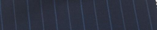 【Mi_co6s10】ネイビー地+1cm巾ブルー交互ストライプ