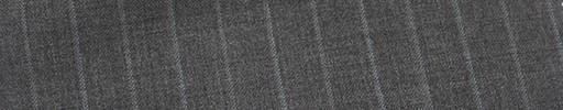 【Mi_co6s11】ミディアムグレー地+1cm巾水色・グレー交互ストライプ