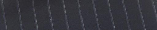 【Mi_co6s12】ネイビー地+1.1cm巾ドット・織りストライプ