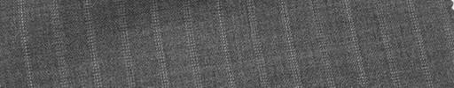 【Mi_co6s15】ミディアムグレー地+1.8cm巾交互ストライプ