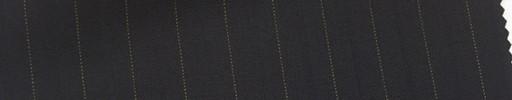 【Mi_co6s18】ダークネイビー地+1.2cm巾イエロー・織り交互ストライプ