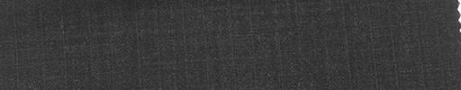 【Mi_co6s36】チャコールグレー地+6ミリ巾織り交互ストライプ