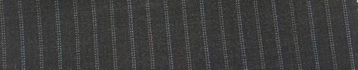 【Mi_co6s39】チャコールグレー地+1.2cm巾水色・白ドット交互ストライプ