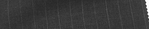 【Mi_co6s47】チャコールグレー地+1.1cm巾ストライプ