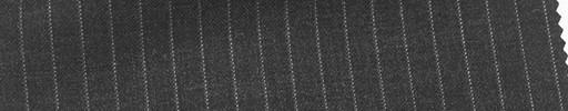 【Mi_co6s49】チャコールグレー地+6ミリ巾白ストライプ