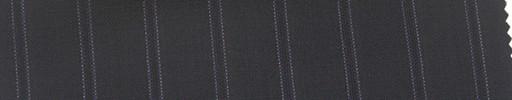 【Mi_co6s53】ダークネイビー地+1.6cm巾パープル織り・白ドットストライプ