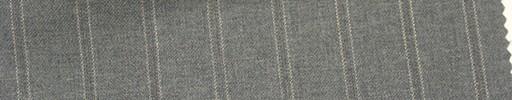 【Mi_co6s54】ライトグレー地+1.6cm巾織り・白ドットストライプ