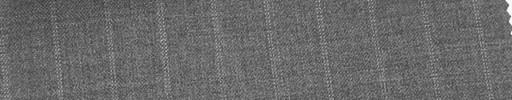 【Mi_co6s56】ミディアムグレー地+1.3cm巾Wドットストライプ