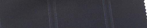【Mi_co6s57】ネイビー地+6.5×5cmブルーファンシープレイド