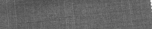 【Mi_co6s58】ミディアムグレー地+6.5×5cm白ファンシープレイド