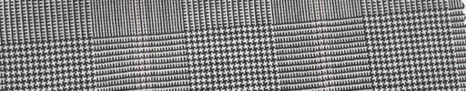 【Mi_co6s64】白黒グレンチェック+6×5cmピンクオーバープレイド