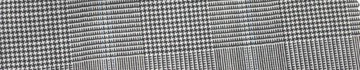 【Mi_co6s65】白黒グレンチェック+6×5cm水色オーバープレイド