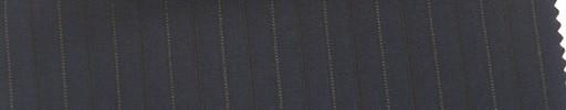 【Mi_co6s68】ネイビー地+1.2cm巾白ドット・織り交互ストライプ