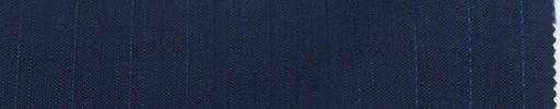 【La_m9s02】ライトネイビー織りストライプ+1.4cm巾ブルーストライプ