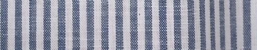 【Brz_30】インディゴブルー・白4ミリ巾ストライプ