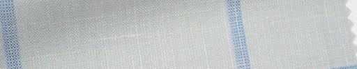【Ha_Ica01】ライトグレー+8.5×6.5cmライトブルーウィンドウペーン