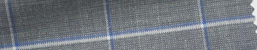【Ha_Ica22】ライトグレー+5×4cmブルー・白ウィンドウペーン