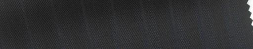 【Sb_6s013】黒柄+1cm巾ネイビー・織りストライプ