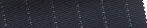 【Sb_6s015】濃紺地+1.5cm巾水色・織りストライプ
