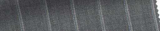 【Sb_6s016】グレー地+1.5cm巾水色・白・織りストライプ