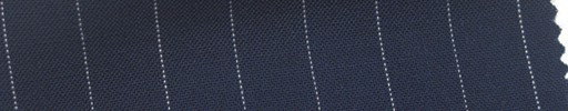 【Cb_6s032】ライトネイビー+1.1cm巾白ストライプ