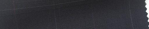 【Cb_6s049】ダークネイビー+5.5×5cmパープル・白・織りプレイド