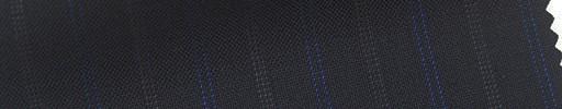 【Cb_6s071】ダークネイビー+1.7cm巾ブルー・ドット交互ストライプ