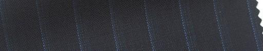 【Cb_6s074】ダークネイビー+1.2cm巾ブルーストライプ