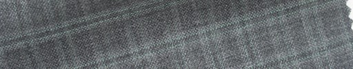 【Cb_6s083】グレー+1.3×0.9cmライトグリーンチェック