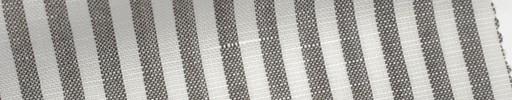 【Mjt_6s44】オフホワイト+4ミリ巾ブラウンストライプ