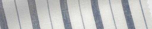 【Mjt_6s45】オフホワイト+2.1cm巾ネイビー交互ストライプ